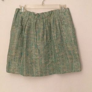 J Crew boucle skirt sz 6 great condition!
